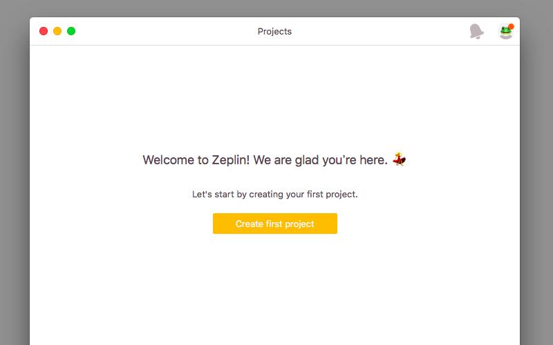 ZEPLINインストール完了
